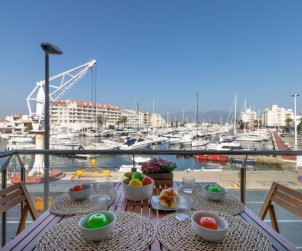 Flat   Empuriabrava 6 persons - dishwaher p0