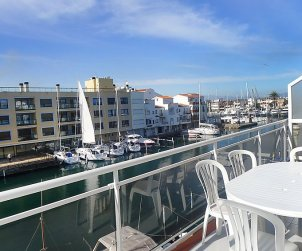 Flat   Empuriabrava 4 persons - panoramic sea view p0