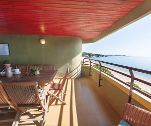 Flat   Platja d'Aro 6 persons - panoramic to the sea p0