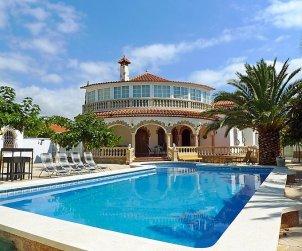 House   Miami Platja 8 persons - private pool p0