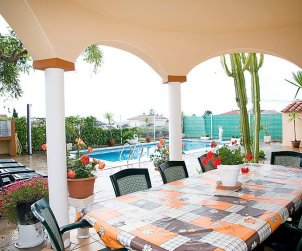 House   Alcanar 9 persons - private pool p2