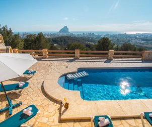 House   Calpe 8 persons - private pool, air conditioning and internet p1