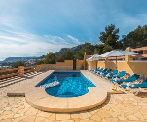 House   Calpe 8 persons - private pool, air conditioning and internet p2