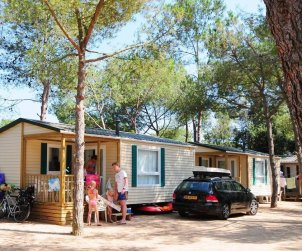 Camping mobile home   Platja d'Aro 2 persons - comunal pool p1