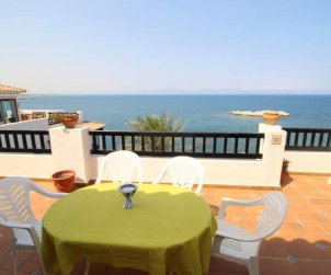 Flat   L'Escala 6 persons - comunal pool and sea view p0