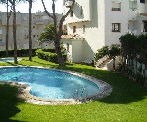 Flat   L'Escala 4 persons - comunal pool and aere acondicionado p0