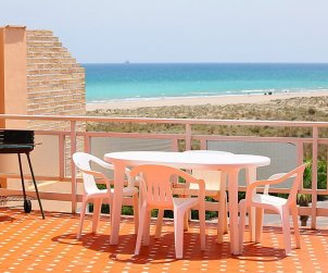 Flat   Puerto Sagunto 6 persons - panoramic to the sea p0