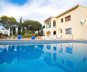 House   Calpe 4 persons - private pool p0