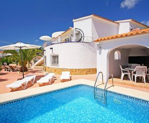 House   Calpe 5 persons - private pool p0