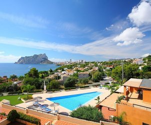House   Calpe 8 persons - comunal pool p1