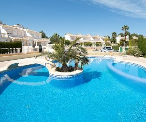 House   Calpe 6 persons - comunal pool p0