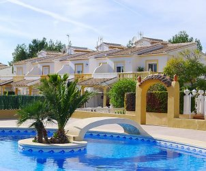 House   Calpe 6 persons - comunal pool p1