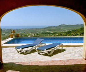 House   Moraira 2 persons - private pool p1
