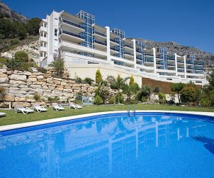 Flat   Altea 6 persons - comunal pool p2