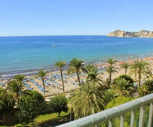 Flat   Benidorm 5 persons - panoramic to the sea p0