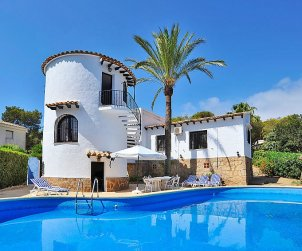 House   Javea 8 persons - private pool p0