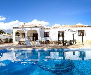 House   Calpe 9 persons - private pool p0