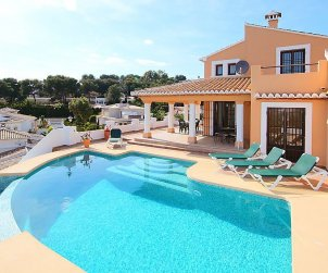 House   Moraira 6 persons - private pool p0