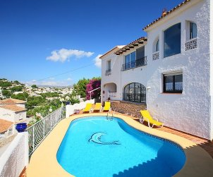 House   Moraira 8 persons - private pool p1