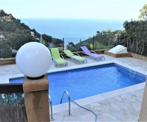 House   Begur 6 persons - private pool and sea view p0
