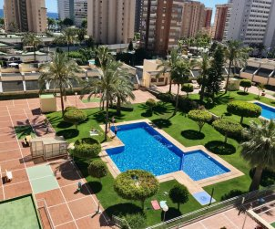 Flat   Benidorm 6 persons - comunal pool and A/C p0