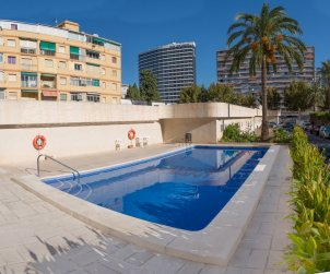 Flat   Benidorm 4 persons - comunal pool and sea view p0