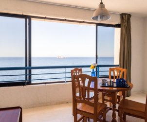 Flat   Benidorm 4 persons - comunal pool and sea view p1