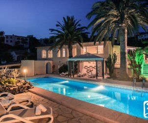 House   Moraira 6 persons - private pool, air conditioning and internet p1