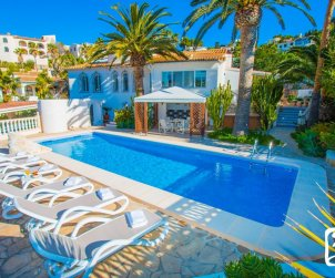 House   Moraira 6 persons - private pool, air conditioning and internet p2