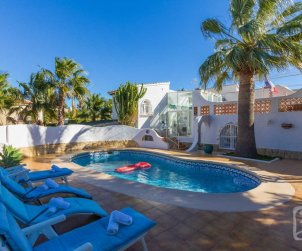 House   Calpe 8 persons - private pool and air conditioning p2