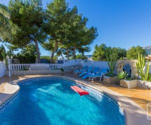 House   Calpe 8 persons - private pool and air conditioning p1