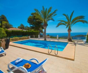 House   Benissa 15 persons - private pool, sea view and Wifi p0