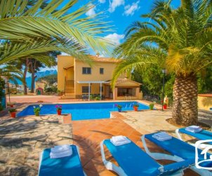 House   Benissa 12 persons - private pool and wifi p0