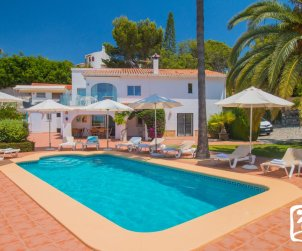 House   Moraira 10 persons - private pool, little sea view and air conditioning p0