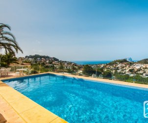 House   Benissa 8 persons - private pool, air conditioning and sea view p1