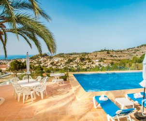 House   Benissa 8 persons - private pool, air conditioning and sea view p2