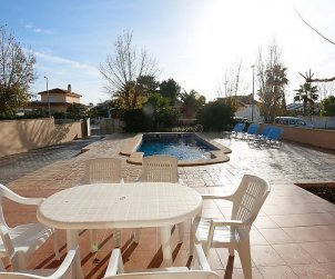 House   Deltebre  -  Riumar 8 persons - private pool p1
