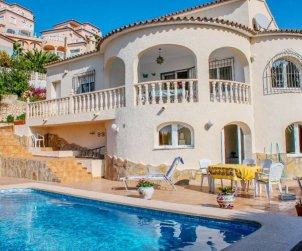 House   Moraira 4 persons - private pool p1