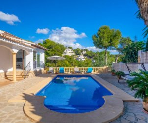 House   Moraira 5 persons - private pool p0