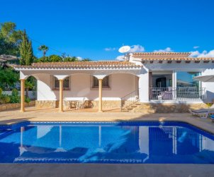 House   Moraira 5 persons - private pool p1
