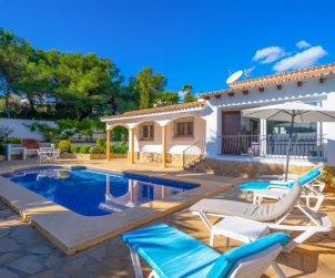 House   Moraira 5 persons - private pool p2