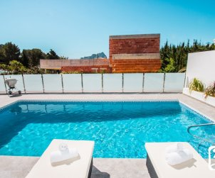 Modern house   Calpe 6 persons - with private pool and sea view p2