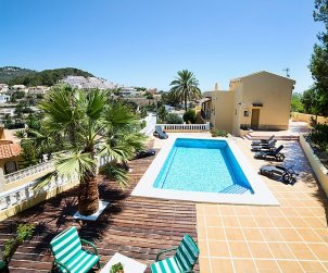 House   Calpe 10 persons - private pool p0