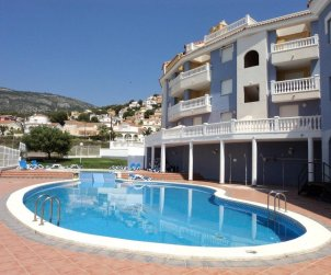 Flat   Alcocéber - Alcossebre 8 persons - comunal pool and air conditioning p0