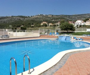 Flat   Alcocéber - Alcossebre 8 persons - comunal pool and air conditioning p1