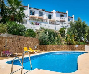 House   Nerja 4 persons - comunal pool p0
