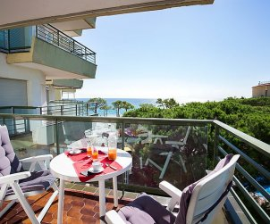 Flat   Platja d'Aro 4 persons - panoramic to the sea p0
