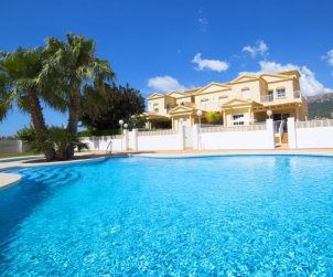 House   Calpe 8 persons - comunal pool p0