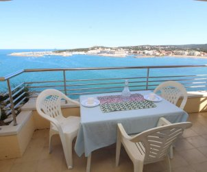 Flat   L'Escala 4 persons - comunal pool and sea view p0