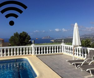 House   Benitachell 6 persons - private pool, sea view and internet p1